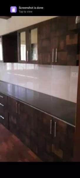 Kararangalpady : 2 Bedroom Semi Furnished Flat For Rent Rs.15,000/-