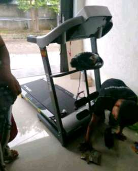 Mesin 2Hp(Sport Big Electric Treadmill Three Function with incline)