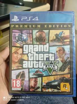 GTA 5 premium addition PS4 Seal pack
