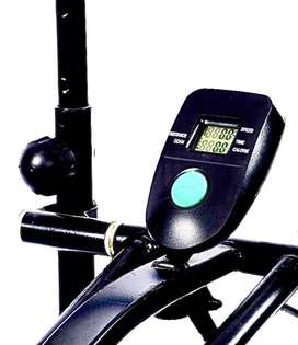 Almost New Exercise Cycle with Twister & Pushup Bar for Quick Sale