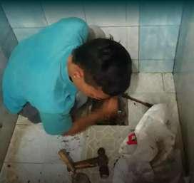 Jasa nya melancar kan wc tumpat saluran air sumbat westapel sedot