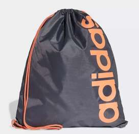 SALE TAS RANSEL ADIDAS BLACK & ORANGE NEW