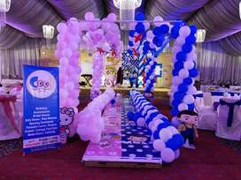 Event Planner Birthday Balloons Theme Jumping Castle