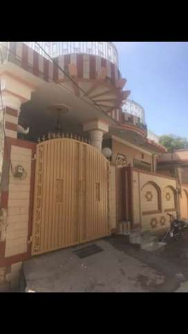 Very Beautiful 8 Marla Double Story Home in Police Lines Dhok Muqarab