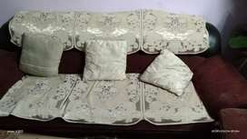 New maharaja sofa set 5 siter with table