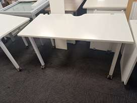 """4'7""""*2'4"""" Boss Table with Metal Movable Base"""