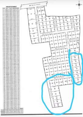 All plot size available water and elercity available road 20ft