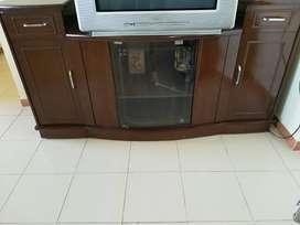 TV Unit Seesum wood