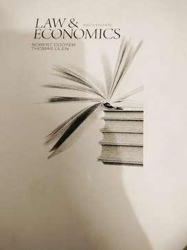 Law n economics book