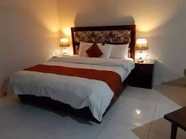 Bahria furnished one Bedroom Apartment available for rent ph 4