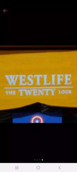 Stiker Westlife The Twenty Tour