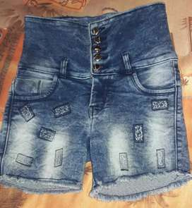 Kids Jeans  Hot Pant