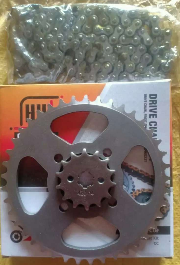 Rs 699 H H Sprocket set(Rear & Front with Chain) 0