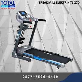 Treadmill elektrik 2 HP TL270 I Shock peredam getaran