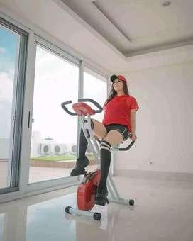 olahraga lebih nyaman dengan sepeda status xbike sandaran
