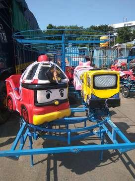 odong kereta panggung robocar mainan eskavator DSY