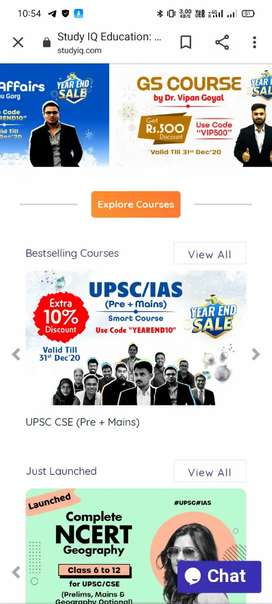 UPSC pre+mains study IQ pendrive course