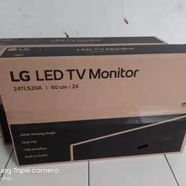 TOP SELLER TV LED LG 24 Inch 24TL520A-PT Monitor TV USB Movie Garansi