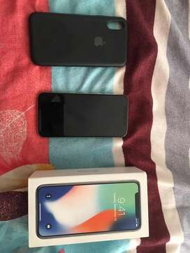 Iphone x 64gb white neat and good condition