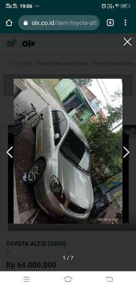 Toyota Corolla altis G 03 Tegal