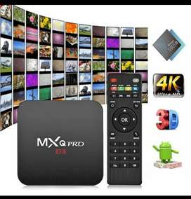 TV BOX Android Ram 2Gb 16Gb MXQPro TV Lcd Koneksi Wifi HP Usb Hdmi