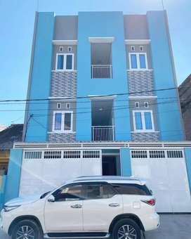 Kos ac eksklusif bangunan baru murah di surabaya