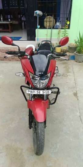 Self driven police Personnel bike company serviced single owner