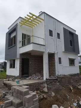 3bhk row house in lohegaon malwadi wasti pune