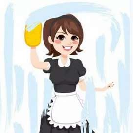 Need full time female maid for baby chores