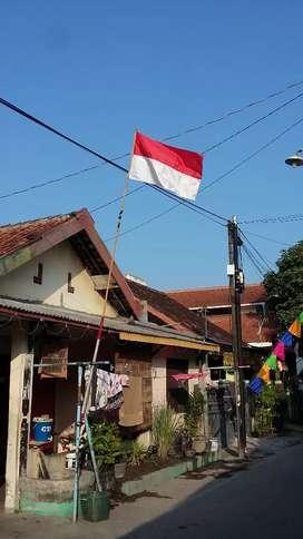Rumah Kampung Dekat Masjid dalam kota solo