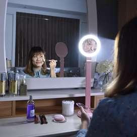 EGLARE LED 8W LAMPU MAKE UP DAN LAMPU BELAJAR PINK