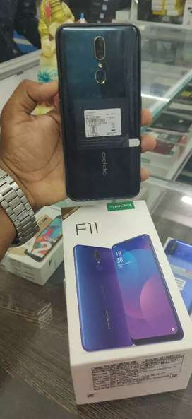 Oppo F11 6/128gb 10 months warrenty full box pack