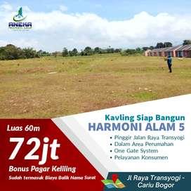 Tanah Kavling Griya Harmoni Alam 5 Di Cariu Bogor