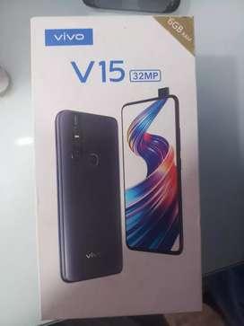 Vivo v15 available frozen black color 6gb 64gb