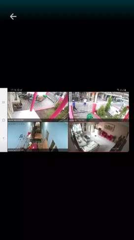 Pasang alat keamanan paket kamera cctv harga murah kualitas 2mp