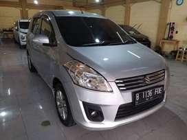 Suzuki Ertiga GL 1.4. 2014 Matic Silver Istimewah