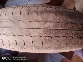 30 thousands km running tyre swift vdi 165/80/14