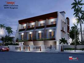 2-BHK ROW BUNGALOWS, HAVING PARKING + 2 STRUCTURE, INDEPENDENT 7/12