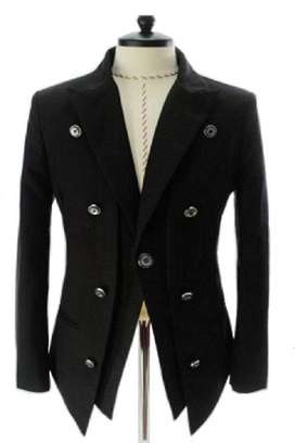 Jas Blazer Many Button Casual Formal Black Style - SK36