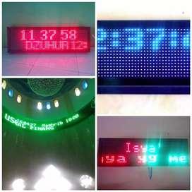 Jual Jam Digital & Running Teks