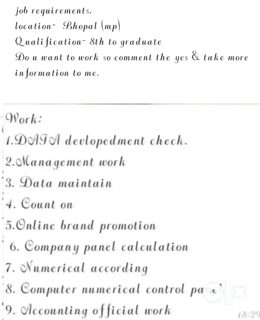 Boys & girls big opportunity for work in fashion designer. 0