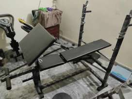 Bench press chest bench dumbbell press exercise bench plates