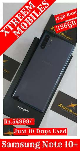 Samsung Note 10+..Just 10 Days Used..100% Brand New Condition..