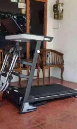 6 fungsi elektrik treadmill familly pringsporty