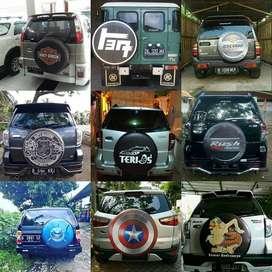 Cover/Sarung Ban Serep Jeep/Rush/Terios Awali touring MarkoTop  Mobil