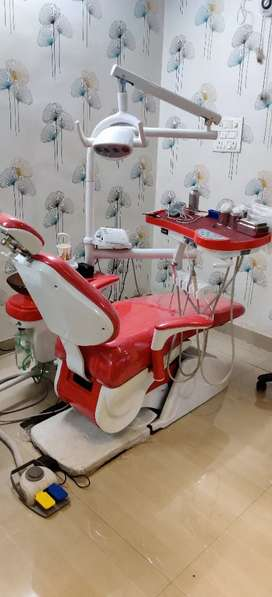 Attender cum receptionist for Dental clinic..