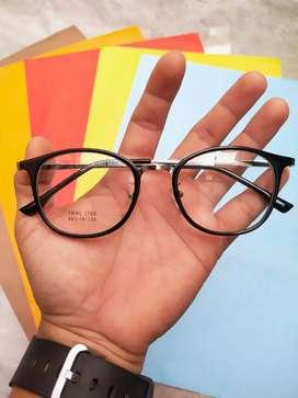 Paket Frame dan lensa anti UV dan LED ukuran mulai minus 025 - 700