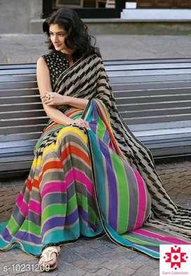 Saree with blause