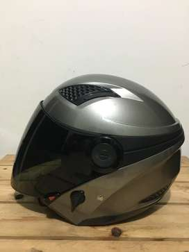 Zeus Grey 610 pemakaian cewek bonus visor