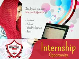 I need male or female internee for my  business.